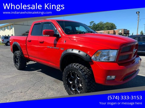 2011 RAM Ram Pickup 1500 for sale at Wholesale Kings in Elkhart IN