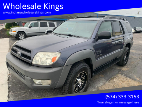 2003 Toyota 4Runner for sale at Wholesale Kings in Elkhart IN