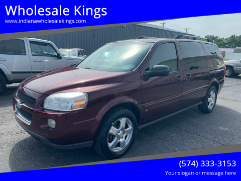 2008 Chevrolet Uplander for sale at Wholesale Kings in Elkhart IN