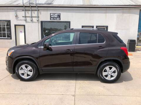2016 Chevrolet Trax LT for sale at McCarty Motors LLC in Longmont CO