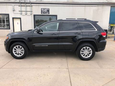 2014 Jeep Grand Cherokee for sale at McCarty Motors LLC in Longmont CO