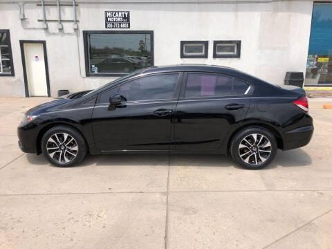 2013 Honda Civic for sale at McCarty Motors LLC in Longmont CO