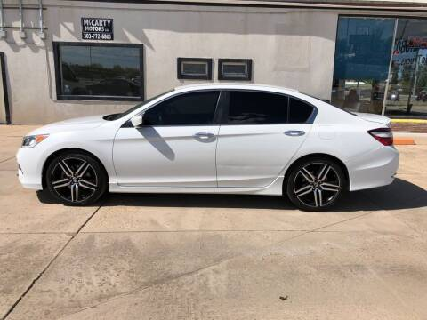 2017 Honda Accord Sport for sale at McCarty Motors LLC in Longmont CO