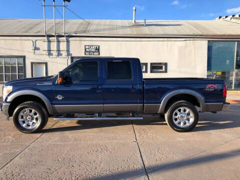 2012 Ford F-250 Super Duty for sale at McCarty Motors LLC in Longmont CO