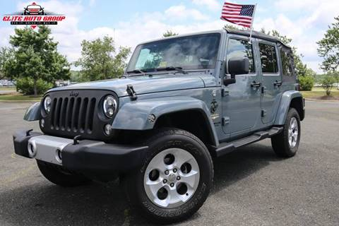 2014 Jeep Wrangler Unlimited for sale at ELITE AUTO GROUP in Fredericksburg VA