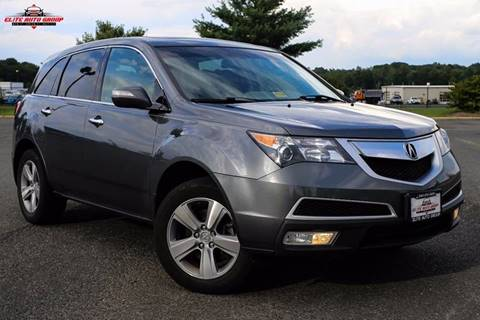 2011 Acura MDX for sale at ELITE AUTO GROUP in Fredericksburg VA