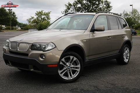 2007 BMW X3 for sale at ELITE AUTO GROUP in Fredericksburg VA