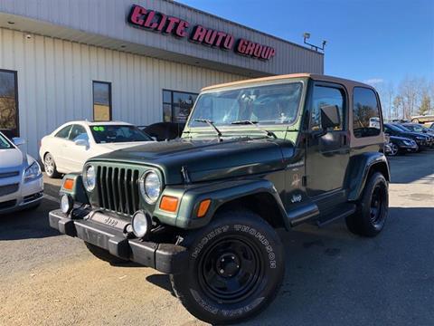 1998 Jeep Wrangler for sale in Frederic, VA