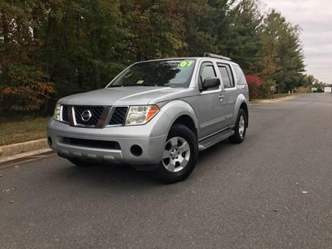2007 Nissan Pathfinder for sale at ELITE AUTO GROUP in Fredericksburg VA