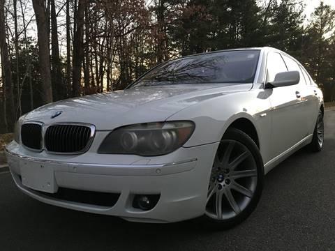 2006 BMW 7 Series for sale at ELITE AUTO GROUP in Fredericksburg VA