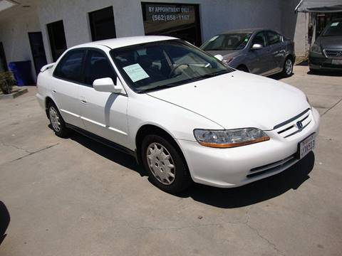 2002 Honda Accord for sale at Car Tech USA in Whittier CA