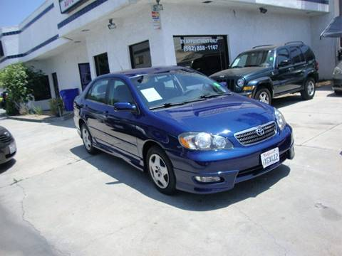 2007 Toyota Corolla for sale at Car Tech USA in Whittier CA