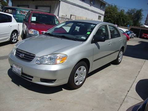 2004 Toyota Corolla for sale at Car Tech USA in Whittier CA