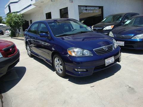 2005 Toyota Corolla for sale at Car Tech USA in Whittier CA