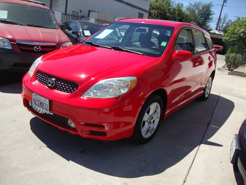 2003 Toyota Matrix for sale at Car Tech USA in Whittier CA