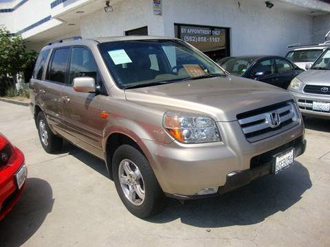 2006 Honda Pilot for sale at Car Tech USA in Whittier CA