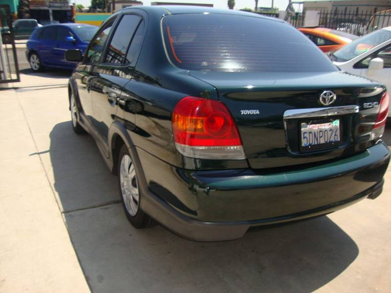 2003 Toyota ECHO for sale at Car Tech USA in Whittier CA