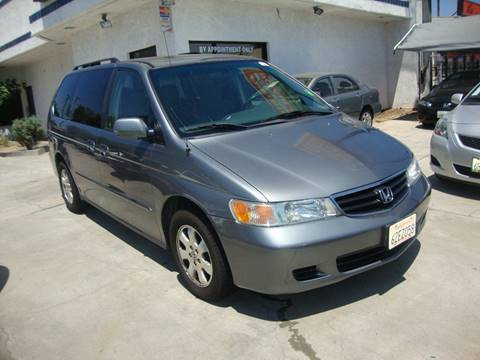 2002 Honda Odyssey for sale at Car Tech USA in Whittier CA