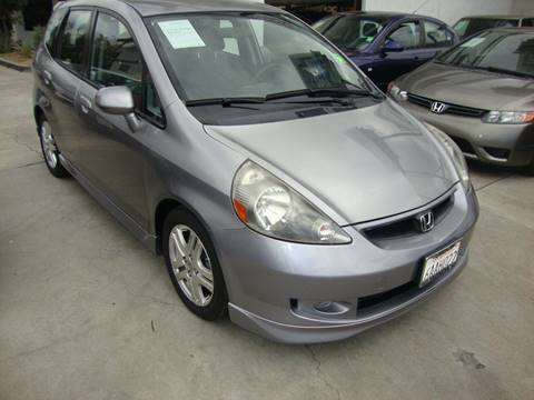 2007 Honda Fit for sale at Car Tech USA in Whittier CA