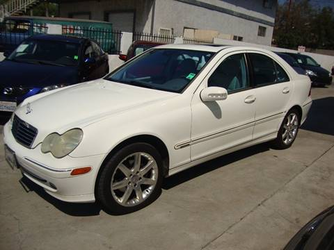 2004 Mercedes-Benz C-Class for sale at Car Tech USA in Whittier CA