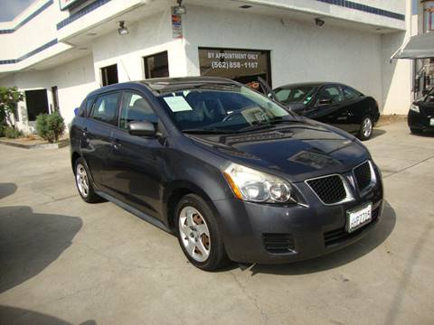 2009 Pontiac Vibe for sale at Car Tech USA in Whittier CA