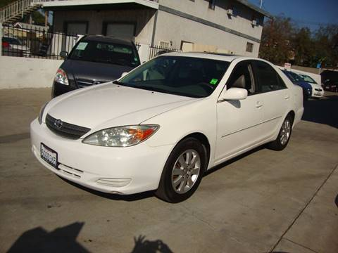 2002 Toyota Camry for sale at Car Tech USA in Whittier CA