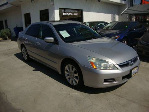 2006 Honda Accord for sale at Car Tech USA in Whittier CA