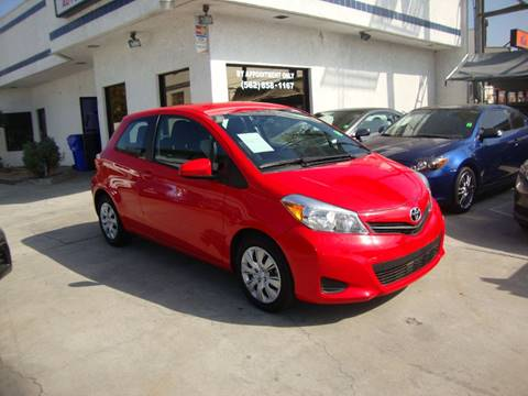 2014 Toyota Yaris for sale in Whittier, CA