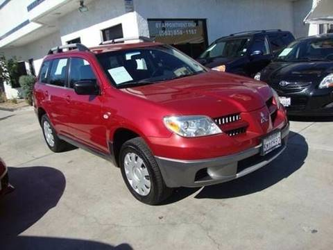 2005 Mitsubishi Outlander for sale at Car Tech USA in Whittier CA