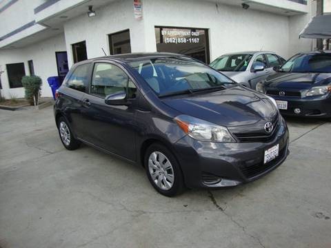 2013 Toyota Yaris for sale at Car Tech USA in Whittier CA