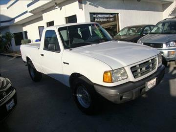 2002 Ford Ranger for sale at Car Tech USA in Whittier CA