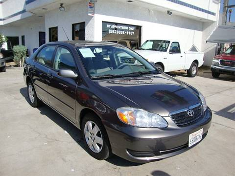 2008 Toyota Corolla for sale at Car Tech USA in Whittier CA