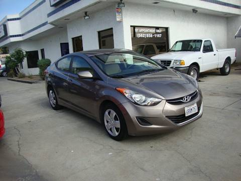 2011 Hyundai Elantra for sale at Car Tech USA in Whittier CA