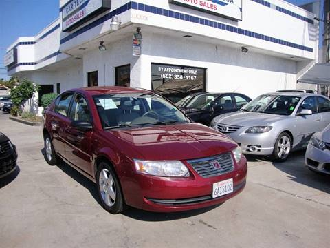 2007 Saturn Ion for sale at Car Tech USA in Whittier CA