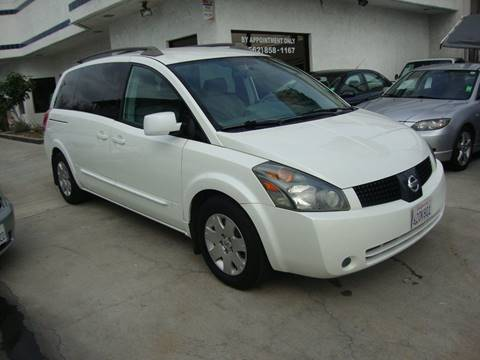 2005 Nissan Quest for sale at Car Tech USA in Whittier CA