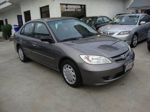 2004 Honda Civic for sale at Car Tech USA in Whittier CA