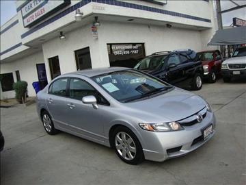2009 Honda Civic for sale at Car Tech USA in Whittier CA