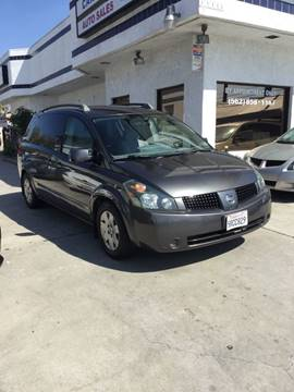 2006 Nissan Quest for sale at Car Tech USA in Whittier CA