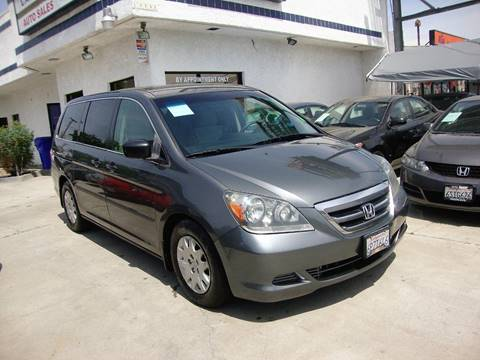 2007 Honda Odyssey for sale at Car Tech USA in Whittier CA