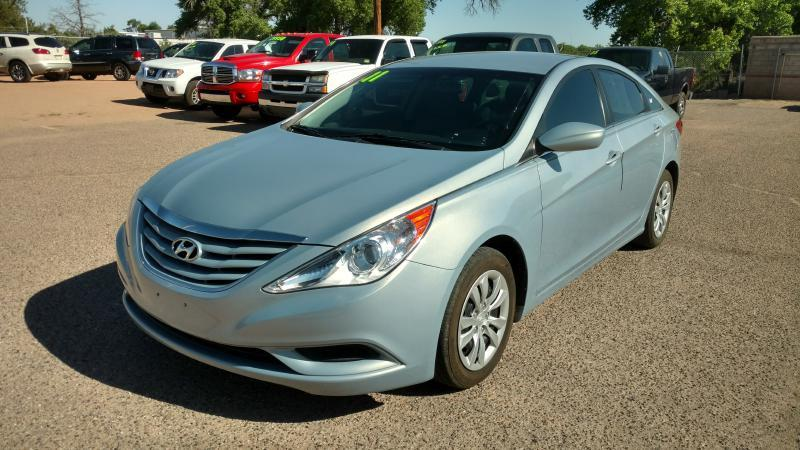 2011 Hyundai Sonata for sale at AUGE'S SALES AND SERVICE in Belen NM