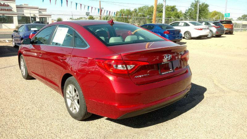 2016 Hyundai Sonata for sale at AUGE'S SALES AND SERVICE in Belen NM