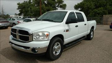 2008 Dodge Ram Pickup 2500 for sale at AUGE'S SALES AND SERVICE in Belen NM