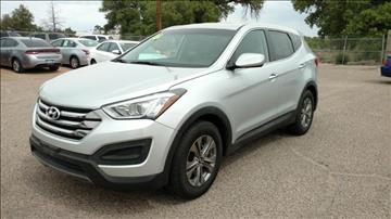 2016 Hyundai Santa Fe Sport for sale at AUGE'S SALES AND SERVICE in Belen NM