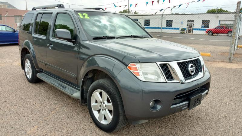 2012 Nissan Pathfinder for sale at AUGE'S SALES AND SERVICE in Belen NM