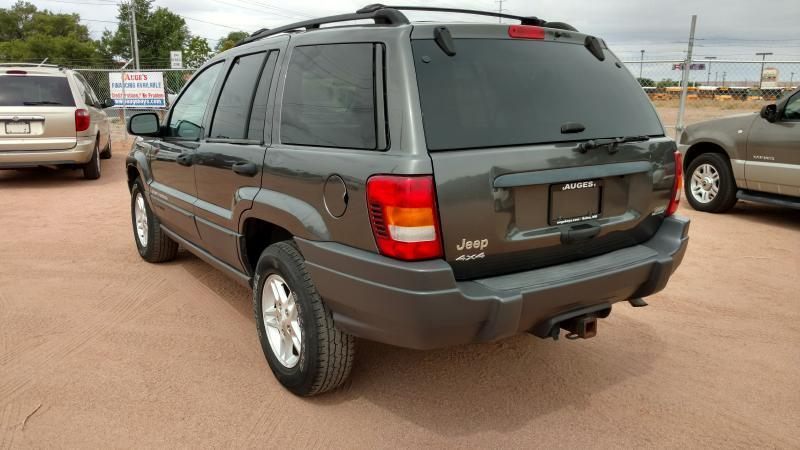 2004 Jeep Grand Cherokee for sale at AUGE'S SALES AND SERVICE in Belen NM