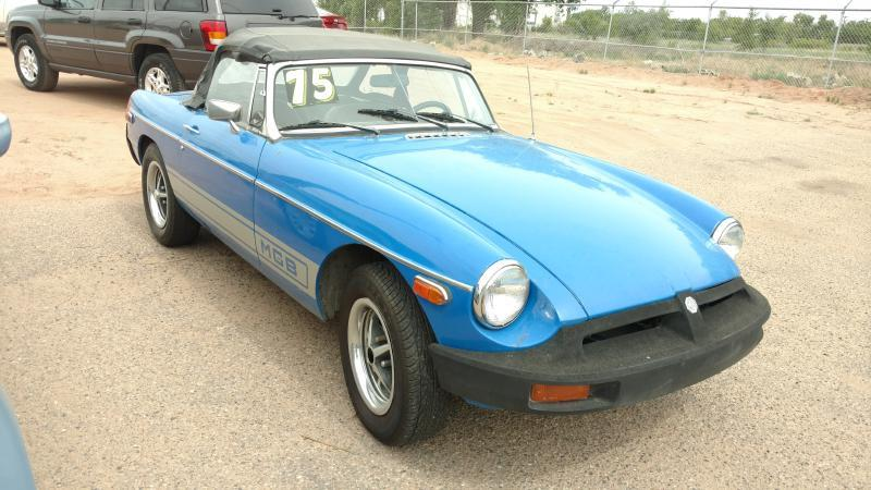 1977 MG B for sale at AUGE'S SALES AND SERVICE in Belen NM