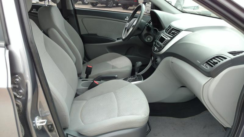 2014 Hyundai Accent for sale at AUGE'S SALES AND SERVICE in Belen NM