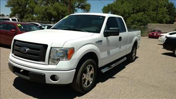 2009 Ford F-150 for sale at AUGE'S SALES AND SERVICE in Belen NM