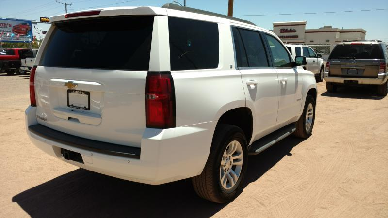 2016 Chevrolet Tahoe for sale at AUGE'S SALES AND SERVICE in Belen NM