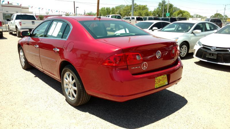 2008 Buick Lucerne for sale at AUGE'S SALES AND SERVICE in Belen NM